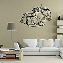 floolter Wall Sticker VW Camper Van e VW Beetle