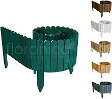 Floranica® Rollborder | Recinzione in Legno