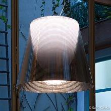 FLOS KTribe S3 lampada sospensione, grigio fumo