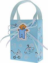FLOWOW 24p blu marsupio piccolo pacchetto tasche