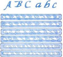 Fmm Stampo per dolci con numeri e lettere