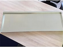 Fondo zincato per conigliera o pollaio 116x66x45cm