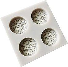 Font - Stampo in silicone per torte e fondenti,