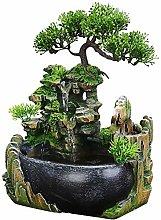 Fontana da meditazione per interni Cascata