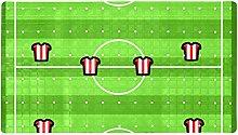 Football Tactics - Tappetino antiscivolo per
