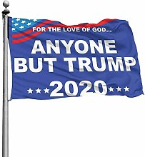 FOREVER ME Anyone BUT Trump 2020 10X6 piede