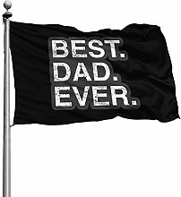 FOREVER ME Best Dad Ever 4X6 piedi Decorazione