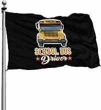 FOREVER ME Scuola Bus Driver 4X6 piede Decorazione