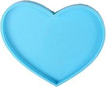 Forma di cuore Coaster resina epossidica stampo