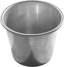 Formina per baba mignon alluminio 5.5x6 cm 6 pezzi
