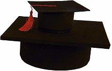 Formoso Scatola Cappello Tocco Laurea per