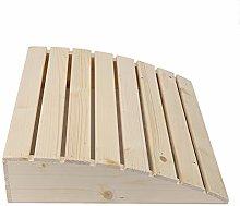 Forniture per sauna, cuscino in legno Comodo