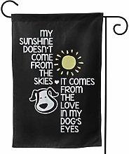 Fortchn, bandiera da giardino My Sunshine Comes