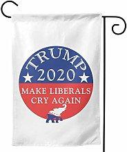 Fortchn, bandiera da giardino Trump Make Liberal