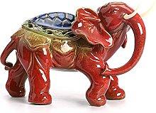 Fortunato Feng Shui Elefante Statua Scultura,