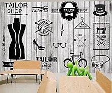 Foto da parete in legno vintage con immagine di