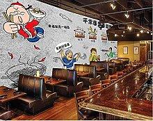 Foto Murale-Noodles Maocaikan Mala Tang, sfondo da