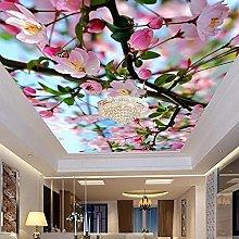 Foto Personalizzata 3D Bellissimi Fiori Hd Murale