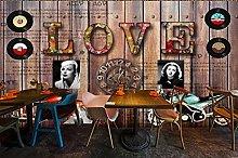 Fotomurale da parete LOVE bar murale camera da