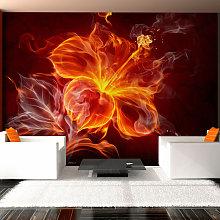 Fotomurale - Fiore ardente - 100x70