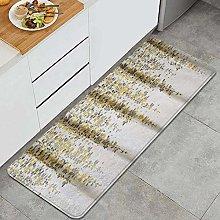 FOURFOOL Tappeto da Cucina,Fiore