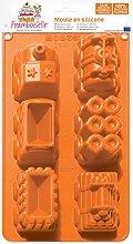 Framboiselle 8902 - Stampo in silicone per torta,