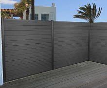 Frangivento 3x pannelli privacy Sarthe WPC