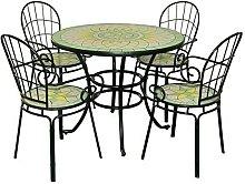 Fraschetti - Set limonaia tavolo tondo 92xh72 con