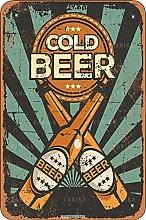 Fredda Beer Vintage Look 20,5 x 30,5 cm Tin