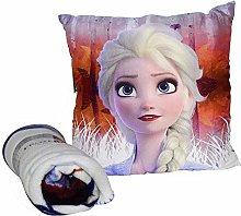 Frozen Set cuscino + coperta in Display 2