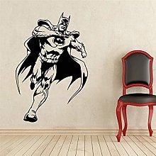 Fumetti Batman Superhero Sticker Qualsiasi stanza
