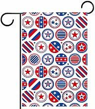 FunHOMEs - Bandiera Americana impermeabile per