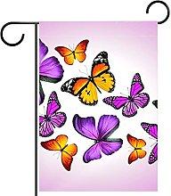 FunHOMEs - Bandiera da giardino con farfalle
