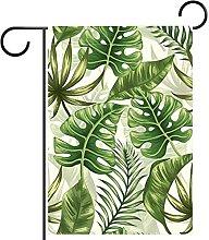 FunHOMEs - Bandiera da giardino con foglie di