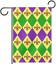 FunHOMEs - Bandiera da giardino con geometria,