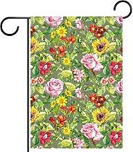 FunHOMEs - Bandiera da giardino con motivo