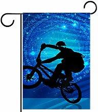 FunHOMEs - Bandiera da motociclista, impermeabile,