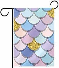 FunHOMEs - Bandiera decorativa per giardino,