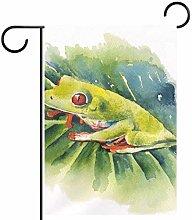 FunHOMEs, bandiera verticale a forma di rana,