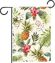 FunHOMEs - Fiori tropicali con ananas da giardino,