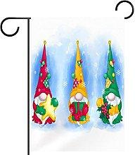 FunHOMEs - Gnomi di Natale con bandiera da
