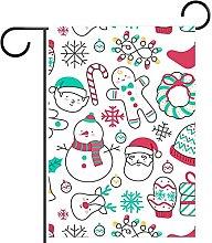 FunHOMEs, motivo natalizio con bandiera del