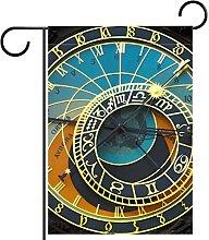 FunHOMEs - Orologio astronomico con bandiera del