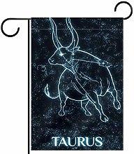 FunHOMEs Taurus - Bandiera da giardino verticale,