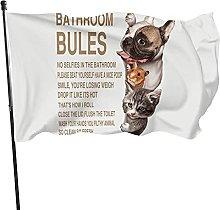 Funny cites, bandiera da giardino per gatti e