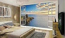 Fuori HD luce solare calda vista mare scenario TV