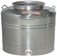 FUSTO contenitore per alimenti inox SANSONE 25 kg