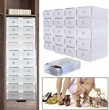 Futchoy 20 scatole di cartone per scarpe fai da