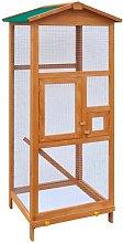 Gabbia in Legno per Uccelli 65x63x165 cm VD06565 -