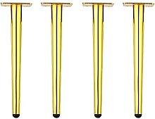 Gambe per Mobili in Ferro (4 Pezzi), Gambe Di